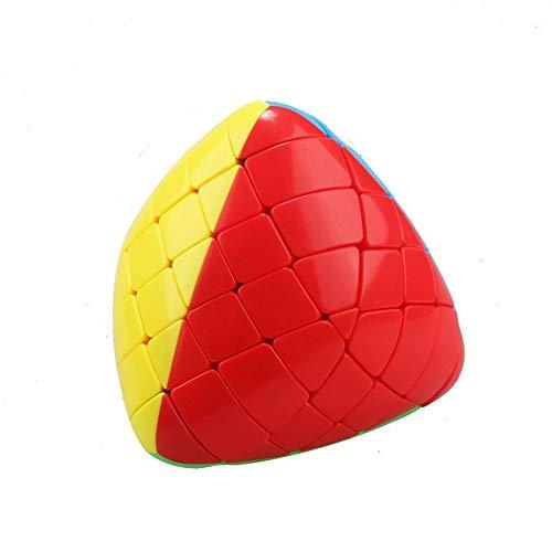 RENFEIYUAN ¡Nuevo !!Shengshou Irregular MA 5x5x5 Mastermorphix Liso 3D Rubik Cubo