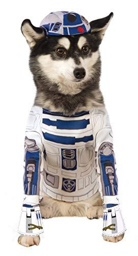 Star Wars - Disfraz de R2-D2 para mascota, Talla M perro (Rubie's 888249-M)