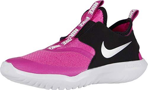 Nike Kids' Preschool Flex Runner Running Shoes (Active-Fuchsia/Metallic-Silver, Numeric_13)