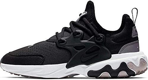 Nike React Presto (GS), Scarpe da Atletica Leggera Uomo, Multicolore (Black/Black/Violet/White 7), 36.5 EU