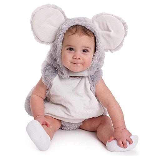 Dress Up America Disfraz de juego de simulación de Halloween de Baby Squeaky Mouse