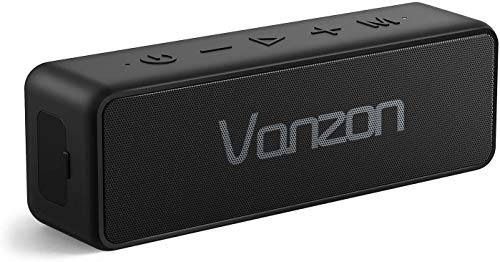 For Sale! Bluetooth Speakers, Vanzon Climber-Z Portable Bluetooth V5.0 Wireless Speaker, with 30W Rich Bass& 360° Surround Sound, 16 Hr Playtime, IPX7 Waterproof, for Travel, Camping, Shower and Outdoors