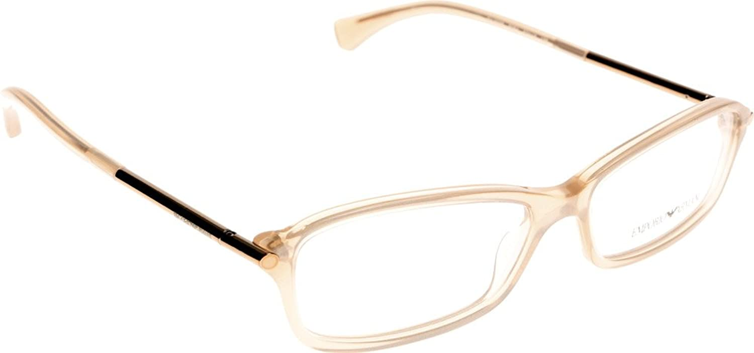 Emporio Armani 3006 Womens Ladies Flexible Hinges Contemporary Adult Size Stunning Eyeglasses Eyeglass Frame