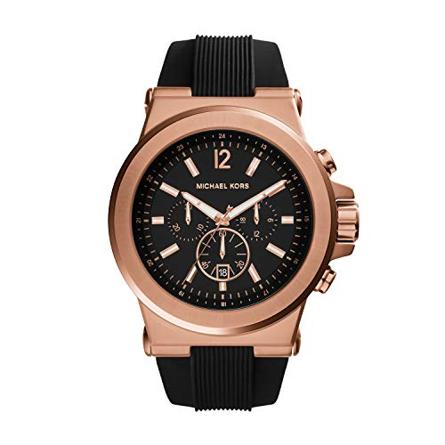 Michael Kors Rose Gold Black Gold Watches for Men