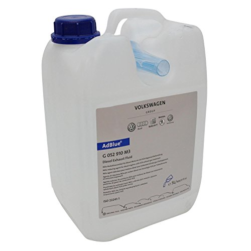 Soluzione di urea AdBlue per trattamento gas di scarico SCR 5 litri con tubo di alimentazione