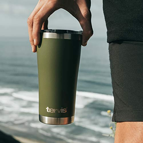 Product Image 3: Tervis Retro Camping Stainless Steel Insulated Tumbler with Lid, 20 oz, Silver