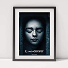 Arya Stark Poster Frame Home Decor Game of Thrones