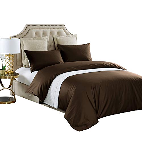 Why Should You Buy THXSILK 4 Piece Silk Comforter Set for Winter – Soft, Light Weight – Include 1 Pure Silk Filled Comforter, 1 400TC Removable Cotton Sateen Cover, 2 Pillowcases – King, Dark Coffee