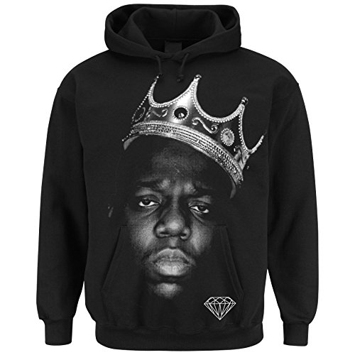 dope diamond Notorious King Black Hoodie (S)