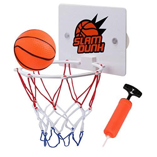 Further Kinder Mini Basketball Spielzeug Set, Kinder Hängen Basketball Board Mit Tragbaren Basketballkorb & Pump Indoor Outdoor Sport Kit Für Kleinkinder