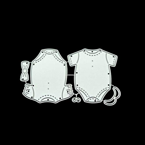 WQIY Die Cuts for Card Making Die Cuts Baby Clothes DIY Metal Cutting Dies Stencil Scrapbooking Photo Album Stamp Paper Card Crafts Decor dies for cardmaking for men