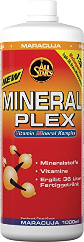 All Stars Mineral Plex, Maracuja, 1er Pack (1 x 1000 ml)