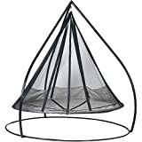 Hanging Hammock Flying Saucer with Stand. 7ft in Diameter.