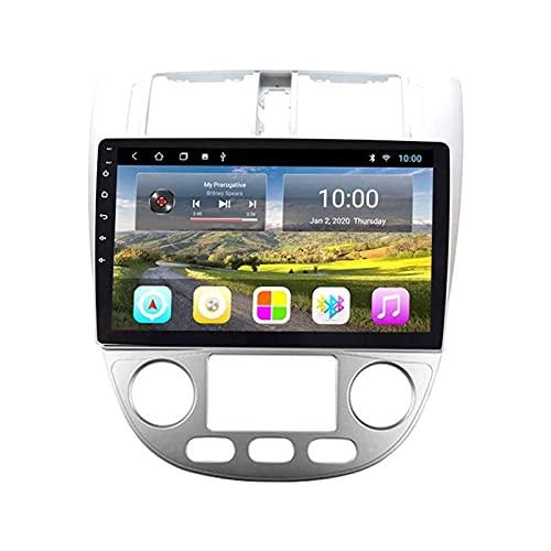 Coche GPS Pantalla táctil Navegación Radio Estéreo Reproductor multimedia Soporte Mirrorlink Wifi 4G Mapa Bluetooth Llamadas manos libres para Buick Excelle 2004-2007,4 Core 4G + WiFi: 2 + 32GB