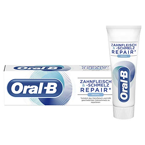 Oral-B tandvlees en -smelten tandpasta, 6-pack (6 x 75 ml)