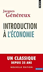 Introduction à l'économie (nouvelle édition) de Jacques Genereux