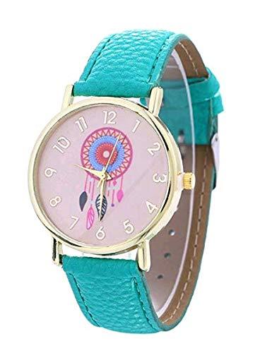Superior_Lifes Traumfänger Uhr Männer und Frauen Uhr Windspiel Muster Kleid Uhr