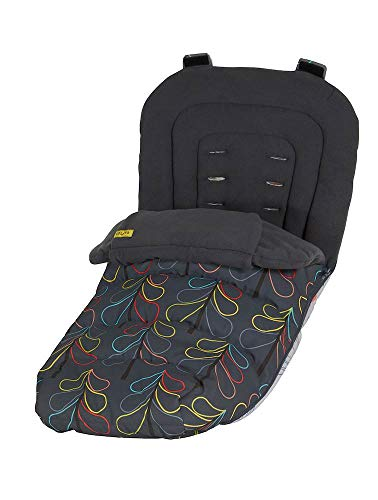 Cosatto Universal Footmuff – Cosy Toes, All Season Quilted Pushchair Liner, Washable (Nordik)