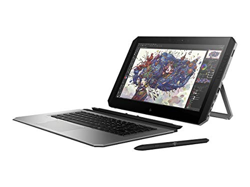 HP 3FB86UT#ABA Zbook X2 G4 Detachable Workstation - 14' Windows Tablet with Bluetooth Keyboard...