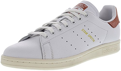 adidas Originals Stan Smith, Zapatillas Deportivas. para Hombre, Color Blanco Raw Pink, 45.5 EU