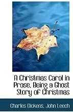 من تصميم عيد الميلاد كارول في prose ، Being A Ghost قصة الكريسماس (نسخة طبق الأصل bibliobazaar)