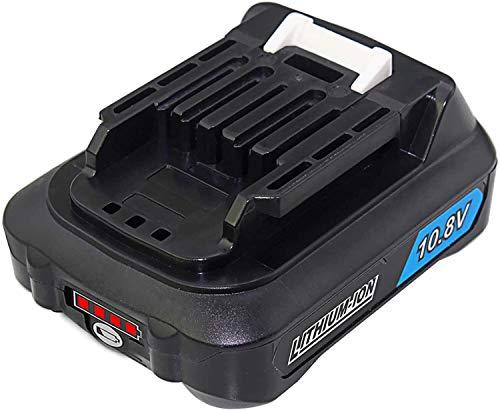 Bluway 互?品 マキタ 10.8v バッテリー bl1015 BL1015 BL1015 BL1050 BL1060 バッテリー LED残量表示付き掃除機 バッテリー リチウムイオン電池 CL107FDZW 充電式クリーナ 充電式ファン CF101D