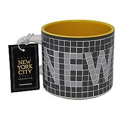 commercial 12 oz Starbucks New York City Collection Ceramic Mug starbucks nyc collection