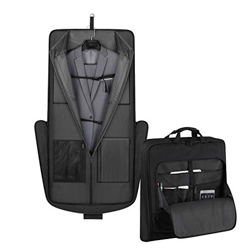 Find Bargain Garment Bag Travel Suit Dress Carrier Storage Bag for Travel & Business Trips