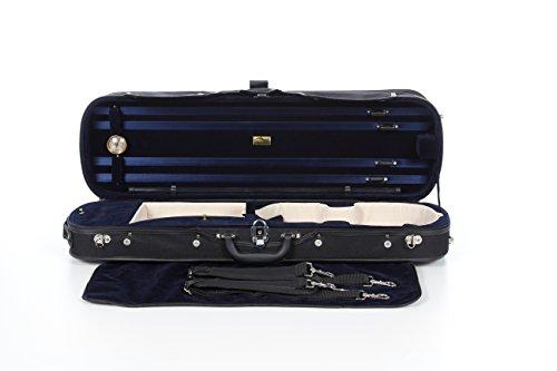 Geigenkoffer Holz 4/4 marineblau M-Case
