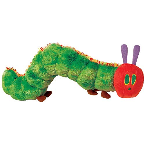 Joy Toy 962110 - Kleine Raupe Nimmersatt Plüsch 26 cm