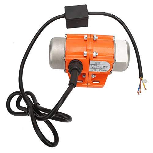 Universele vibratiemotor, eenfase asynchrone motor met meerdere wattages 30W ~ 100W / 3000RPM Amerikaanse stekker 110V / 30W