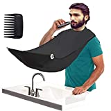 Delantal para barba con capucha, para hombre, ideal como regalo para afeitarse o...