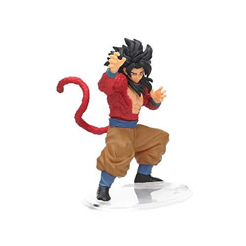 xstorex 8-30cm Dragon Ball Z SCultures Big Budoukai Series Figura de acción Lazuli Nappa Raditz Goku Trunks Vegeta Satan Colección Modelo-Goku Rojo