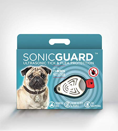 SonicGuard Ultrasonic Repeller | Chemical-Free Pet Accessories for Flea Prevention and Tick Control