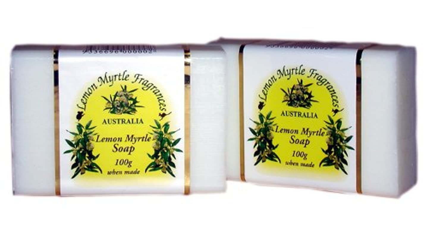 黄ばむ実際アイスクリームレモンマートルソープ 100gx2個セット 【海外直送品】