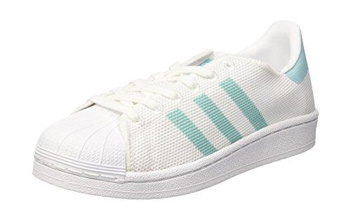 adidas adidas Damen Superstar Basketballschuhe, Weiß (Ftwwht/easmin/ftwwht), 40 EU