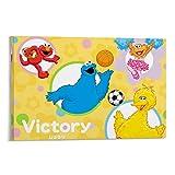 Berühmte Kunst Gemälde Poster Sesamstraße Elmo Victory