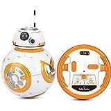 LHFD 2.4G Robot de Control Remoto Inteligente Star Wars Upgrade RC BB8 Robot con música Sonido Figura de acción Juguetes de Regalo