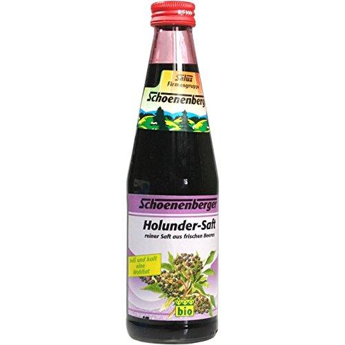 Schoenenberger Holunder Bio-Saft, 330 ml Lösung