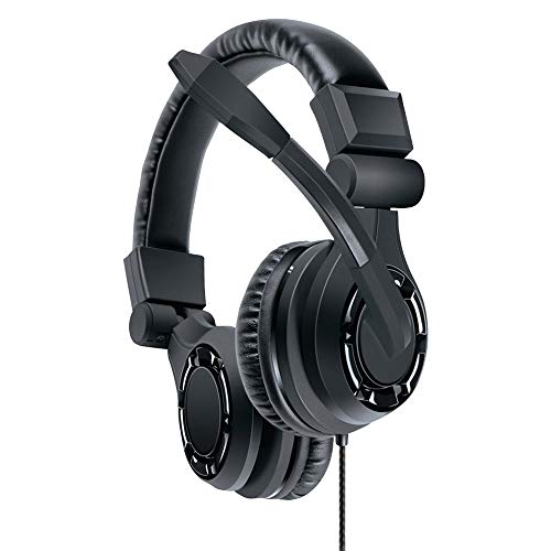 dreamGEAR Grx-350 Advanced Wired Gaming Headset for Xbox Series X/Xbox One/PS5/PS4/Switch/PC - 40MM Drivers and Amplifier