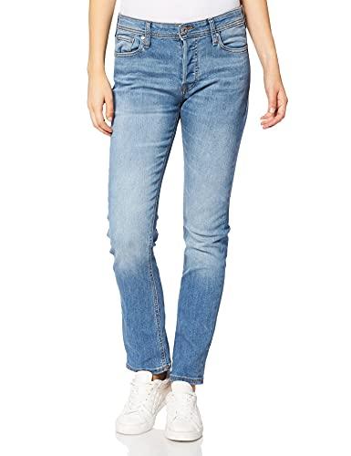 Jack & Jones JJIGLENN Jjoriginal AM 812/815 2PK MP Jeans, Bleu Denim/Paquet : Bleu Denim, 30W x 34L Homme