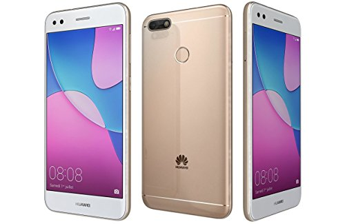 "Huawei P9 Lite Mini SLA-L23 5"" Dual SIM Factory Unlocked 16GB 2GB RAM 13 MP Fingerprint (International Version - No Warranty - Gold)"