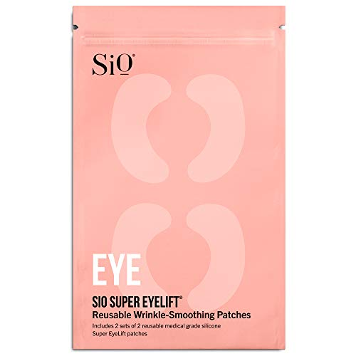 SiO Beauty Under-Eye Patches For Puffy Eyes - Anti-Wrinkle Gel Pads For Fine Lines and Wrinkles - Overnight Eye Mask Patch For Dark Circles and Bags