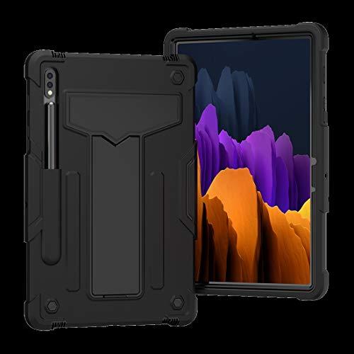 SZCINSEN Funda para Galaxy Tab S7 11 2020, resistente a los golpes, protección contra caídas con función atril de tres capas