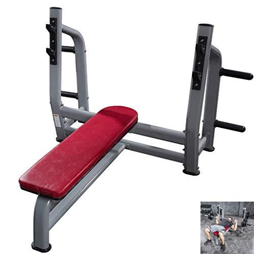 HAOYF Kommerzielle Kniebeugen-Hantelbank, multifunktionales Fitnessgerät, Langhantelablage für Bankdrücken, Trainingsgerät, 400 kg