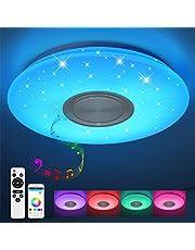 JDONG Moderne ronde LED plafondlamp plafondlamp 10506LY