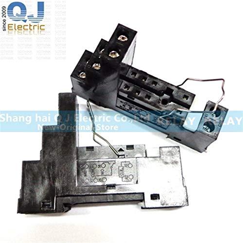 CCJW 10PCS OMRON Relay G2R-1-E-12 VCC G2R-1-E-24VDC G2R-1-E 12V 24V 16A estrenar y Original del relé (Size : 10PCS GuidewaySOCKET)