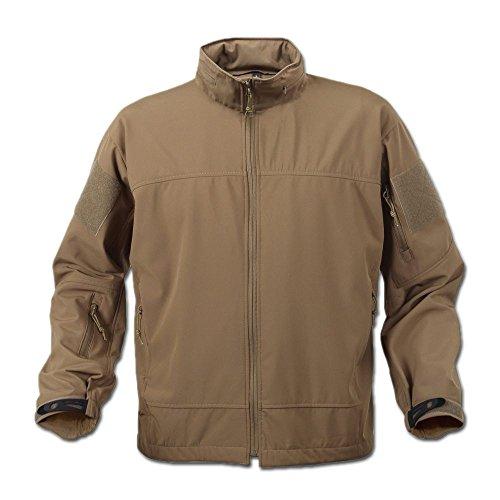 ROTHCO Covert Spec Ops Lightweight Soft Shell Jacke Coyote Braun Größe S
