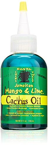 Jamaican Mango & Lime Cactus Oil for Hair, 4 Oz
