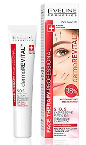 Eveline Cosmetics Ftp Dermorevital Serum Reduzierung Von Falten Auge/Lippen/Gesicht, 15 ml